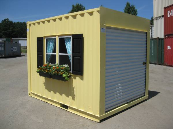 10ft mobile office container