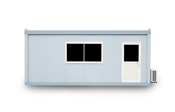 20 foot container office with door and window